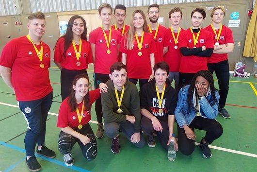 3 titres obtenus lors du championnat académique pour nos collégiens et lycéens!